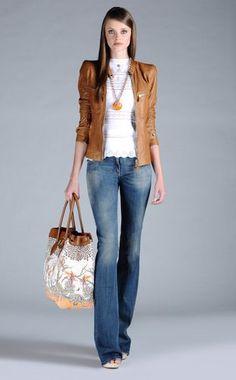 Leather outerwear Women - Coats & jackets Women on Roberto Cavalli Online Store
