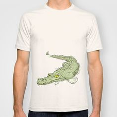 crocodile T-shirt by ErsanYagiz -