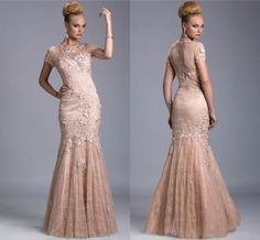 Mother Of Groom Dresses Tea Length Janique Mother' Dresses Applique Beaded Jewel Cap Sleeves Mother Of The Bride Mermaid Floor Length Evening Dress Mother Of The Bride Clothes From Newdeve, $151.73| Dhgate.Com
