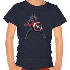 Captain America Character Art T Shirt, Hoodie Sweatshirt