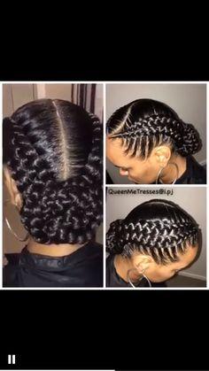 braid hairstyles for teens Twists Two Braid Hairstyles, African Braids Hairstyles, Natural Hair Braids, Braids For Black Hair, Curly Hair Styles, Natural Hair Styles, Girls Braids, Big Braids, Goddess Braids