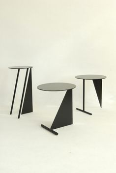 Stabile Side Tables by Max Enrich