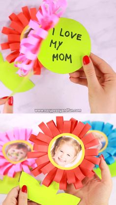 This little flower Mothers day card is a perfect classroom Mother's day craft for kids to make. Our template makes it easy peasy and you can be sure the parents will love receiving one of this cards. Crafts for school Flower Mothers Day Card for Kids Easy Mother's Day Crafts, Mothers Day Crafts For Kids, Spring Crafts For Kids, Diy Mothers Day Gifts, Fathers Day Crafts, Crafts For Kids To Make, Fun Crafts, Diy And Crafts, Kids Diy