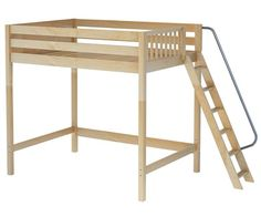 Maxtrix CHUNKY Ultra-High Loft Bed Full Size Natural
