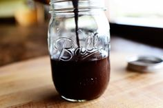 Homemade hot fudge sauce from the Pioneer Woman. So easy and delicious!!!