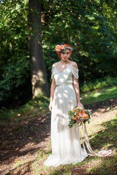 Alternative bridal inspiration for a woodland or floral wedding Bohemian Wedding Dresses, Designer Wedding Dresses, Floral Wedding, Country Wedding Inspiration, Mediterranean Wedding, Bridal Jumpsuit, Alternative Wedding Dresses, Bridal Separates, Bridal Boutique