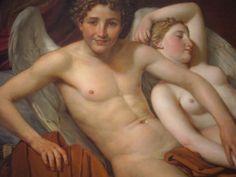 Eros e psique - Jacques-Louis David