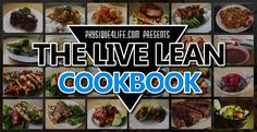 Access over 220 healthy fat loss recipes and 30 day meal plan. http://www.physique4life.com/cookbook/