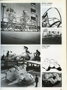 "Senda ""Space Jangle"" and ""Ping-Pong"" playground equipment"