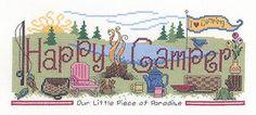 Happy Camper - Cross Stitch Pattern - $5.39 from 123stitch.com