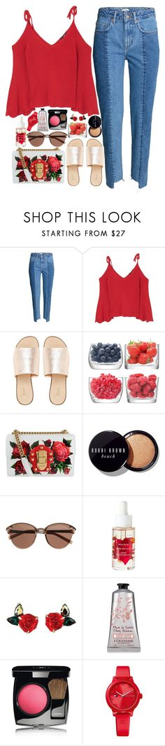 """""""❤"""" by polinachaban ❤ liked on Polyvore featuring MANGO, L.E.N.Y., LSA International, Dolce&Gabbana, Bobbi Brown Cosmetics, Witchery, Chanel and Tommy Hilfiger"""
