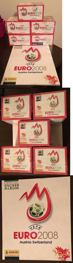 Soccer Cards 183444: 5 Panini Euro 2008 Sealed Boxes With An Empty Album -> BUY IT NOW ONLY: $119.99 on eBay!