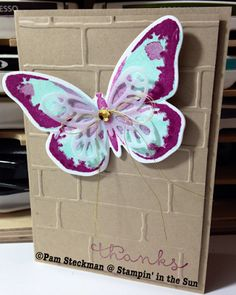 Stampin' in the Sun: Watercolor Wings and Cottage Greetings