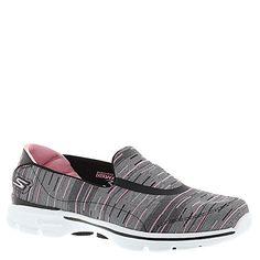 Skechers Performance Women's Go Walk 3 Resistance Walking Shoe, Black/Pink, 7.5 M US - http://all-shoes-online.com/skechers-3/7-5-b-m-us-skechers-performance-womens-go-walk-3-slip-3