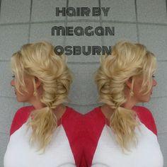 Fishtail braid. Boho hair. Follow me on  Instagram @hairstylist_meagan.osburn