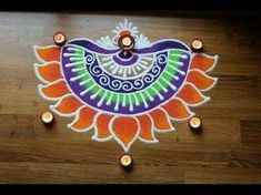 Find this Latest corner rangoli designs for diwali. This is colorful rangoli specially for diwali Rangoli Designs Simple Diwali, Happy Diwali Rangoli, Rangoli Simple, Indian Rangoli Designs, Rangoli Designs Latest, Rangoli Designs Flower, Free Hand Rangoli Design, Rangoli Border Designs, Small Rangoli Design