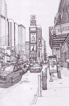 Times Square 2, New York by Edgeman13 on DeviantArt
