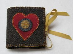 wool heart needle book . . .