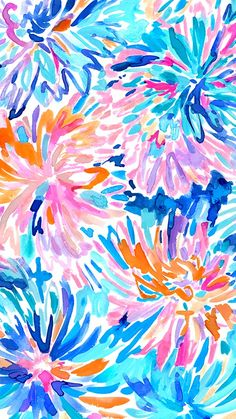36 Ideas For Wallpaper Phone Art Watercolors Lilly Pulitzer Cool Wallpapers For Phones, Cute Wallpaper Backgrounds, Of Wallpaper, Flower Wallpaper, Pattern Wallpaper, Cute Wallpapers, Desktop Wallpapers, Iphone Backgrounds, Lilly Pulitzer Patterns