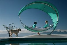 Hammock by Ieva Laurina: This was created to be part of Lodz Design Festival that took place in Lodz, Poland in October.