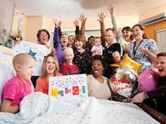 What makes patients and families at St. Jude want to celebrate? No Mo' Chemo parties!