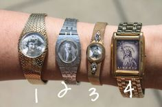 Watches with old photos