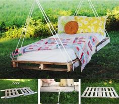 Super Easy DIY Pallet Shelf and More Pallet DIYs .........http://diyfunideas.com ==========BEST DIY SITE EVER!
