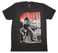 Bob Marley t-shirt featuring a Bob Marley front print.