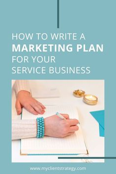 How to write a marketing plan for your service business so you can attract more clients and grow. #marketingplan #marketing #marketingideas #planning #servicebusiness #coaches Marketing Budget, Small Business Marketing, Marketing Ideas, Business Tips, Online Business, Marketing Strategy Template, Content Marketing Strategy, Advertising Methods, Marketing Approach