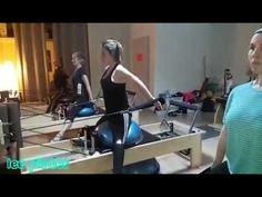 Reformer pilates   bosu - YouTube Exercícios De Pilates 5fe6bd1a6e210