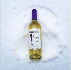 Snow angel! Take the edge off of Monday with a few sips, Wine Sisters!  And don't forget, Middle Sister Sweet & Sassy is always available in our online Bottle Shop: