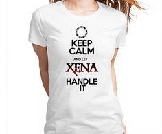 Keep Calm Xena. USE O CUPOM NATAL15 E GANHE 15% DE DESCONTO NOS SEUS PRESENTES DE NATAL!