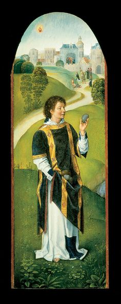 Hans Memling - Saint Stephen - Google Art Project - Category:Paintings by Hans Memling – Wikimedia Commons