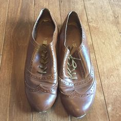 Aldo Tan Loafers Aldo Tan Loafers 💞 Size 9, minor scratches at front of shoe but not easily noticeable at all (pictured), super comfy and trendy! ALDO Shoes Flats & Loafers