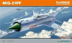 1/48 scale MiG-21PF from Eduard.