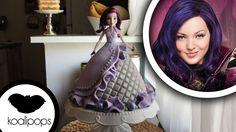 Disneys Descendants: Mal Doll Cake   How To