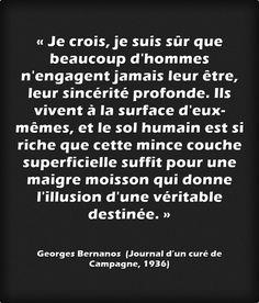 Georges BERNANOS est né le 20 février 1888. Il fut un romancier ardent, engagé et profondément anti conformiste. Son attachement au christianisme conservateur, n'empêchera pas, après 1938, son hostilité à l'antisémitisme et plus tard sa fidélité à la France Libre. Ses romans sont d'une modernité saisissante et certains ont fait l'objet de films célèbres (Journal d'un curé de campagne, Mouchette). Ils sont tous à lire ou relire.