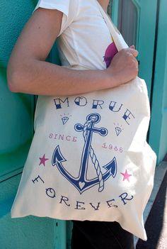 Tote Bag Morue Forever par LolitaPicco