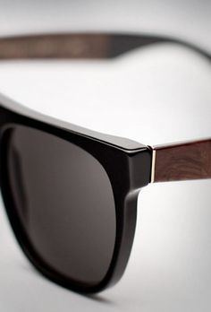 wood sunglasses / men's style