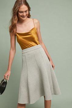 b5d64e6077 Slide View: 1: Peridot Pop Skirt Gray Skirt, Boho Fashion, Autumn Fashion