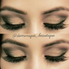 Gold & black shimmery smokey eye | Beauty & the Boss