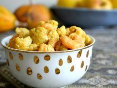 Garnélás karfiolcurry Cauliflower, Curry, Vegetables, Ethnic Recipes, Food, Curries, Cauliflowers, Essen, Vegetable Recipes