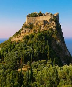 Angel Castle (Angelokastro). Corfu, Greece