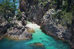 Gorgeous Blue Pearl Bay #beach