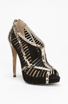 Alexandre Birman Genuine Python Caged Sandal available at #Nordstrom