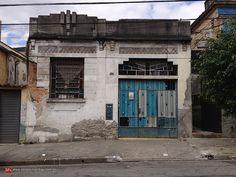 Old house at Sousa Caldas street, Belenzinho Sao Paulo - Brazil