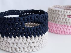 Tuts+ Crochet Basket Tutorial via we-are-scout.com