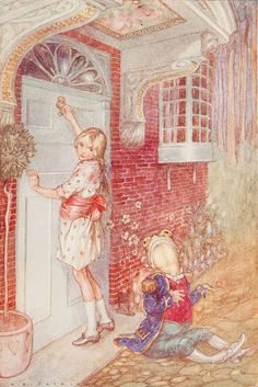 A.E. Jackson illustration from Alice's Adventures in Wonderland on Flickr