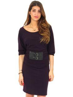 MICHAEL Michael Kors | Sash Belt Jersey Dress www.sabrinascloset.com