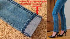 Aprende a cortar o reducir el ruedo de tus pantalones, de forma sencilla y sin necesidad de ir a la modista.